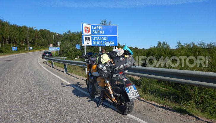 Da Reggio Calabria a Capo Nord con una Honda Monkey 125 - Foto 11 di 20