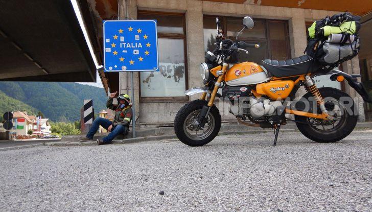 Da Reggio Calabria a Capo Nord con una Honda Monkey 125 - Foto 17 di 20