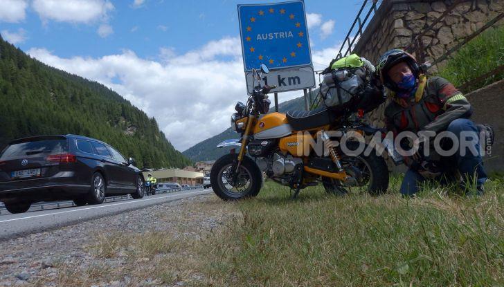 Da Reggio Calabria a Capo Nord con una Honda Monkey 125 - Foto 2 di 20