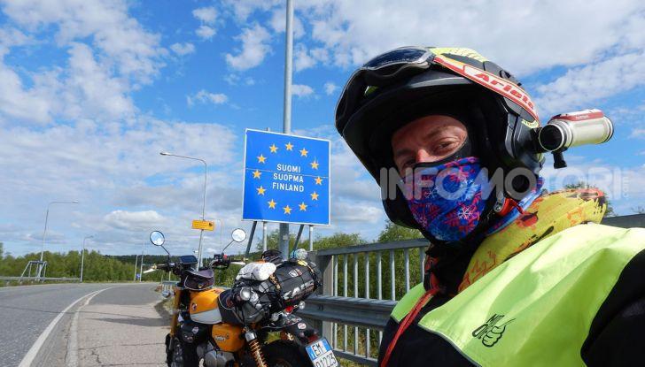 Da Reggio Calabria a Capo Nord con una Honda Monkey 125 - Foto 6 di 20