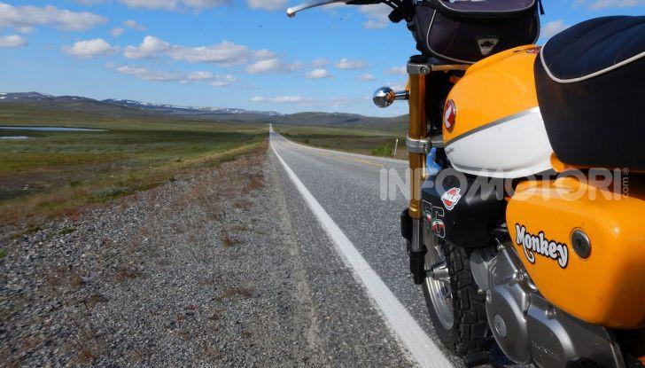 Da Reggio Calabria a Capo Nord con una Honda Monkey 125 - Foto 7 di 20