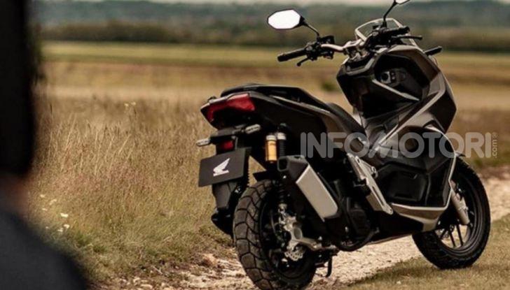 Honda svela il nuovo ADV 150, ispirato al fratello maggiore X-ADV 750. E non è finita qui - Foto 2 di 6