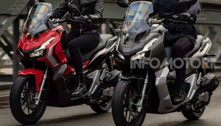 Honda svela il nuovo ADV 150, ispirato al fratello maggiore X-ADV 750. E non è finita qui - Foto 3 di 6
