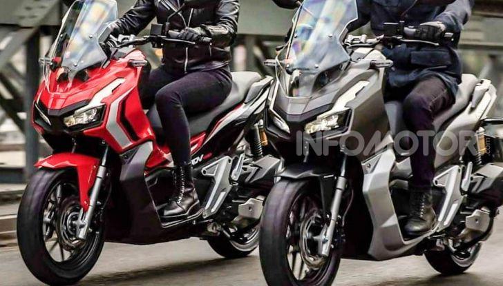 Honda svela il nuovo ADV 150, ispirato al fratello maggiore X-ADV 750. E non è finita qui - Foto 4 di 6