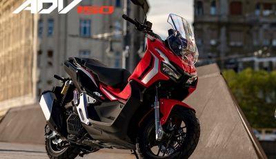 Honda svela il nuovo ADV 150, ispirato al fratello maggiore X-ADV 750. E non è finita qui