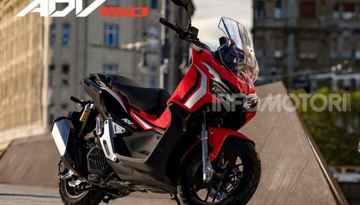 Honda svela il nuovo ADV 150, ispirato al fratello maggiore X-ADV 750. E non è finita qui - Foto 5 di 6