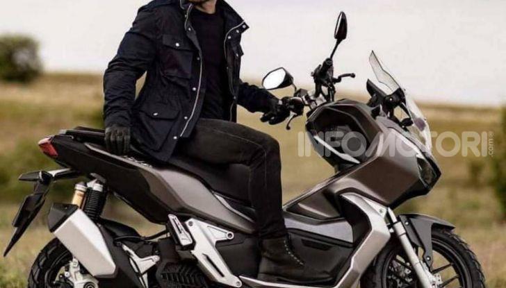 Honda svela il nuovo ADV 150, ispirato al fratello maggiore X-ADV 750. E non è finita qui - Foto 6 di 6