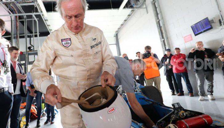 F1: Jackie Stewart torna in pista a Silverstone all'età di 80 anni - Foto 5 di 9