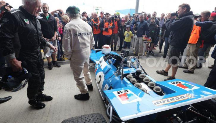 F1: Jackie Stewart torna in pista a Silverstone all'età di 80 anni - Foto 4 di 9