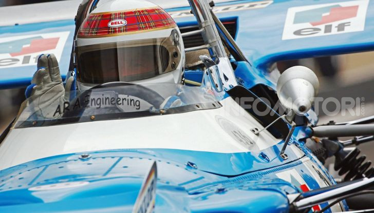 F1: Jackie Stewart torna in pista a Silverstone all'età di 80 anni - Foto 2 di 9