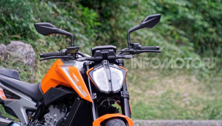 """Prova KTM Duke 790, il """"parcogiochi"""" sotto quota 10 mila (euro)  - Foto 6 di 54"""