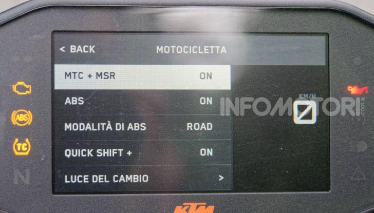 """Prova KTM Duke 790, il """"parcogiochi"""" sotto quota 10 mila (euro)  - Foto 17 di 54"""