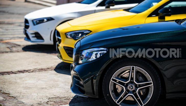 Mercedes-Benz, la prova delle berline compatte 2019 - Foto 11 di 29