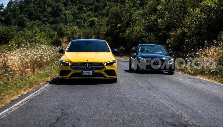 Mercedes-Benz, la prova delle berline compatte 2019 - Foto 19 di 29