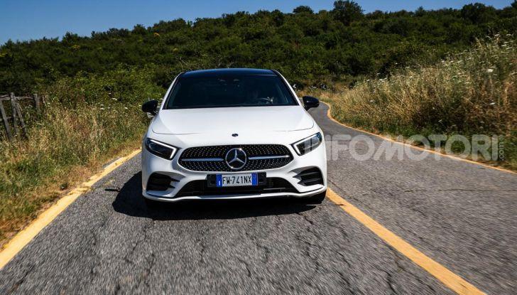 Mercedes-Benz, la prova delle berline compatte 2019 - Foto 20 di 29