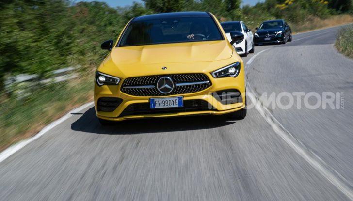 Mercedes-Benz, la prova delle berline compatte 2019 - Foto 21 di 29