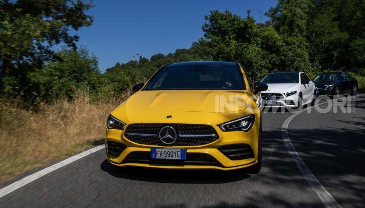 Mercedes-Benz, la prova delle berline compatte 2019 - Foto 22 di 29