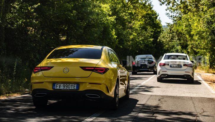 Mercedes-Benz, la prova delle berline compatte 2019 - Foto 24 di 29