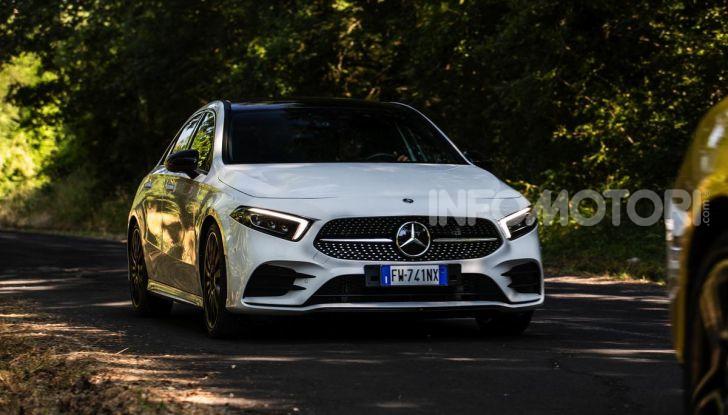 Mercedes-Benz, la prova delle berline compatte 2019 - Foto 25 di 29
