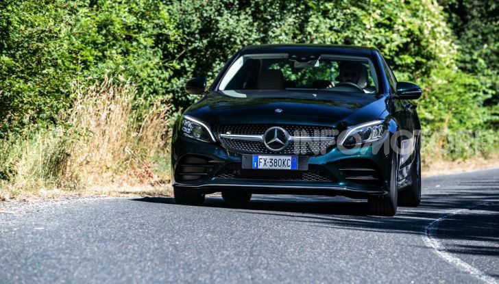 Mercedes-Benz, la prova delle berline compatte 2019 - Foto 26 di 29
