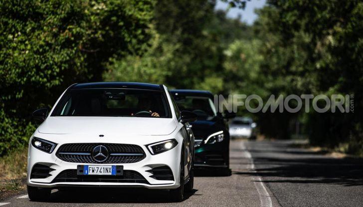 Mercedes-Benz, la prova delle berline compatte 2019 - Foto 28 di 29