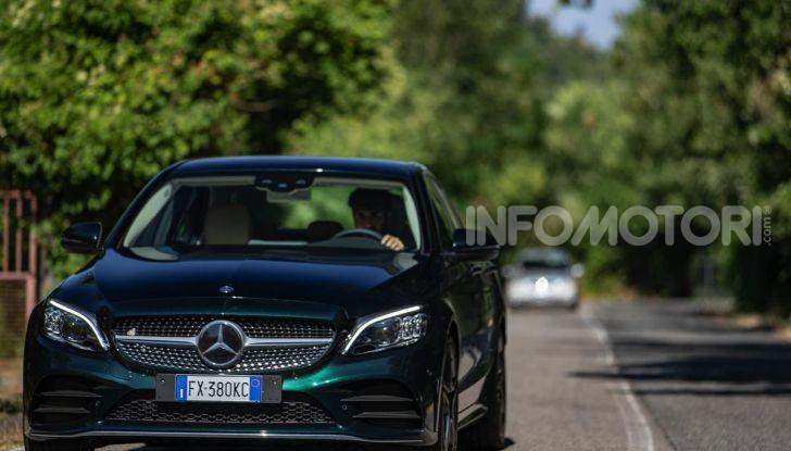 Mercedes-Benz, la prova delle berline compatte 2019 - Foto 29 di 29