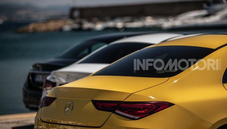 Mercedes-Benz, la prova delle berline compatte 2019 - Foto 4 di 29