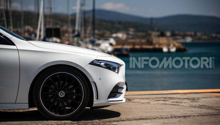 Mercedes-Benz, la prova delle berline compatte 2019 - Foto 5 di 29