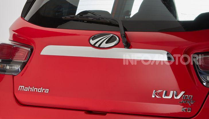 Mahindra completa l'offerta in Italia con KUV100 e XUV500 - Foto 21 di 23