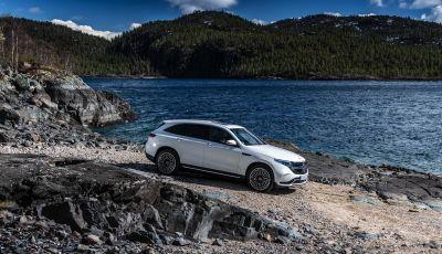 Prova su strada Mercedes-Benz EQC: la prima elettrica del Marchio della Stella