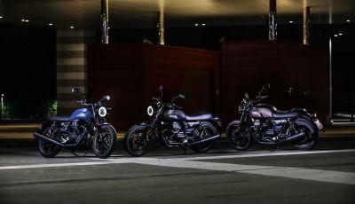 Moto Guzzi V7 Night Pack: la classic per eccellenza da oggi con fari a LED
