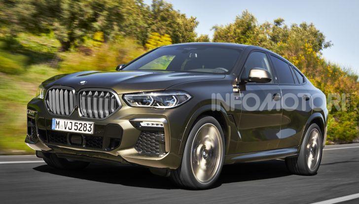 Nuova BMW X6: caratteristiche da Sport Activity Vehicle ed estetica da coupé - Foto 12 di 27