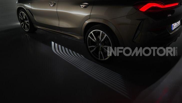 Nuova BMW X6: caratteristiche da Sport Activity Vehicle ed estetica da coupé - Foto 13 di 27