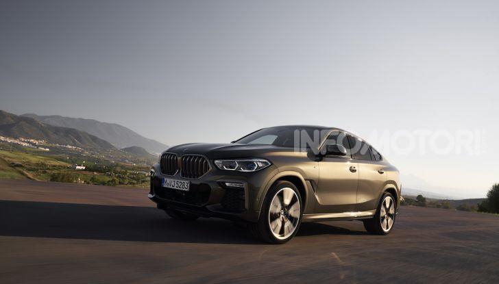 Nuova BMW X6: caratteristiche da Sport Activity Vehicle ed estetica da coupé - Foto 15 di 27