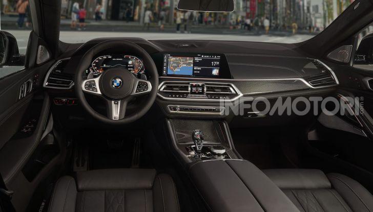 Nuova BMW X6: caratteristiche da Sport Activity Vehicle ed estetica da coupé - Foto 19 di 27