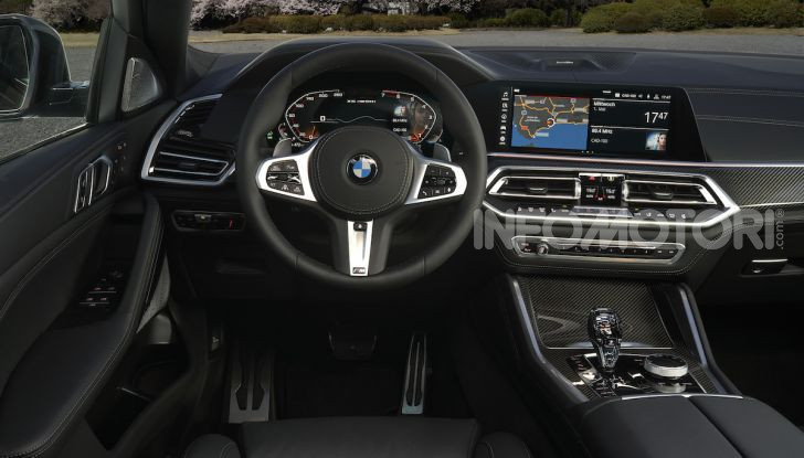 Nuova BMW X6: caratteristiche da Sport Activity Vehicle ed estetica da coupé - Foto 20 di 27