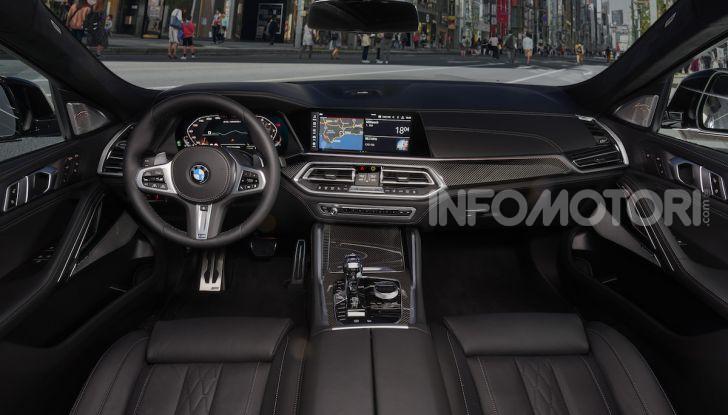 Nuova BMW X6: caratteristiche da Sport Activity Vehicle ed estetica da coupé - Foto 21 di 27