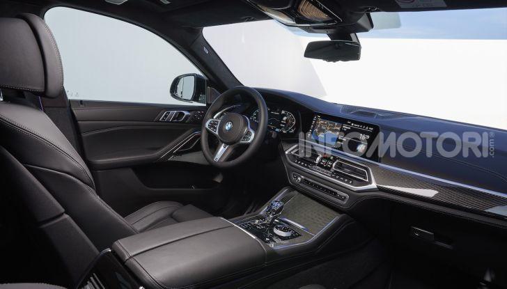 Nuova BMW X6: caratteristiche da Sport Activity Vehicle ed estetica da coupé - Foto 22 di 27