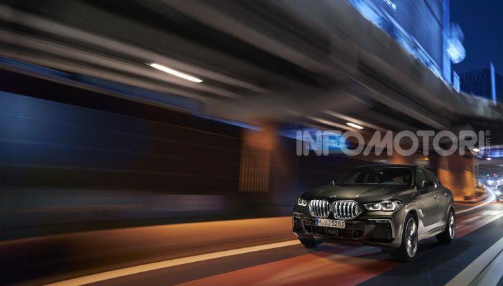 Nuova BMW X6: caratteristiche da Sport Activity Vehicle ed estetica da coupé - Foto 6 di 27