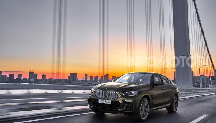 Nuova BMW X6: caratteristiche da Sport Activity Vehicle ed estetica da coupé - Foto 8 di 27