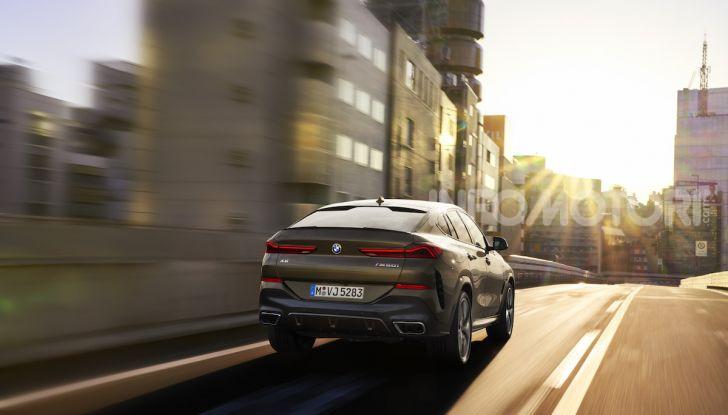 Nuova BMW X6: caratteristiche da Sport Activity Vehicle ed estetica da coupé - Foto 9 di 27