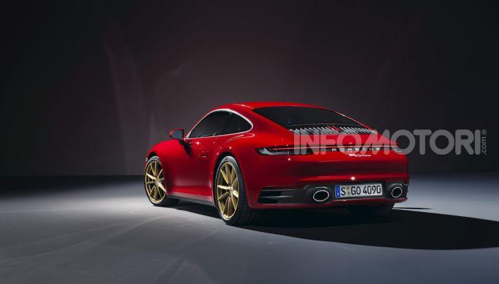 Porsche fa doppietta: ecco la nuova 911 Carrera Coupé e la 911 Carrera Cabriolet - Foto 1 di 10