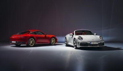 Porsche fa doppietta: ecco la nuova 911 Carrera Coupé e la 911 Carrera Cabriolet