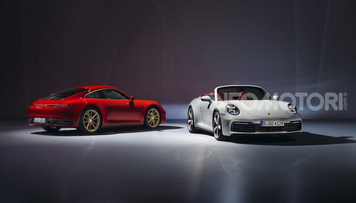 Porsche fa doppietta: ecco la nuova 911 Carrera Coupé e la 911 Carrera Cabriolet - Foto 4 di 10