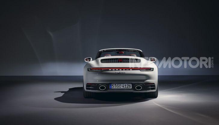 Porsche fa doppietta: ecco la nuova 911 Carrera Coupé e la 911 Carrera Cabriolet - Foto 7 di 10