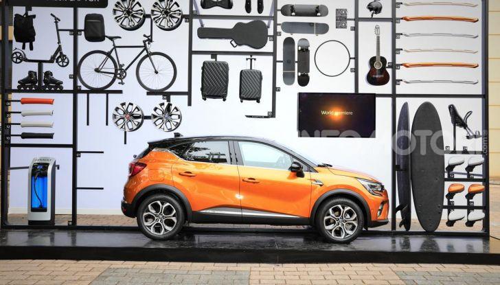 Nuova Renault Captur 2019: SUV d'alto design con variante Plug-In Hybrid - Foto 4 di 47