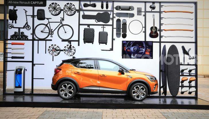 Nuova Renault Captur 2019: SUV d'alto design con variante Plug-In Hybrid - Foto 5 di 47