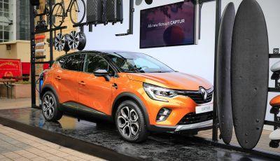 Nuova Renault Captur 2019: SUV d'alto design con variante Plug-In Hybrid