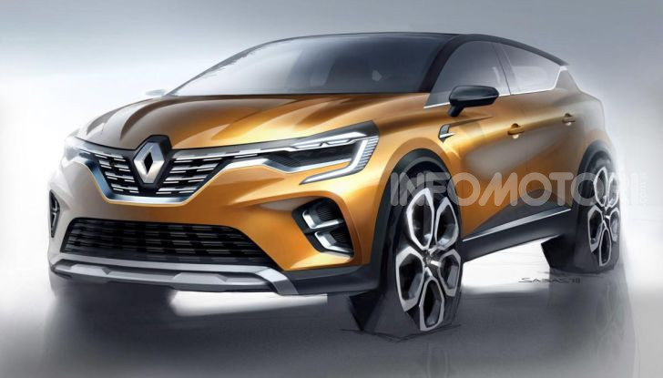 Nuova Renault Captur 2019: SUV d'alto design con variante Plug-In Hybrid - Foto 28 di 39