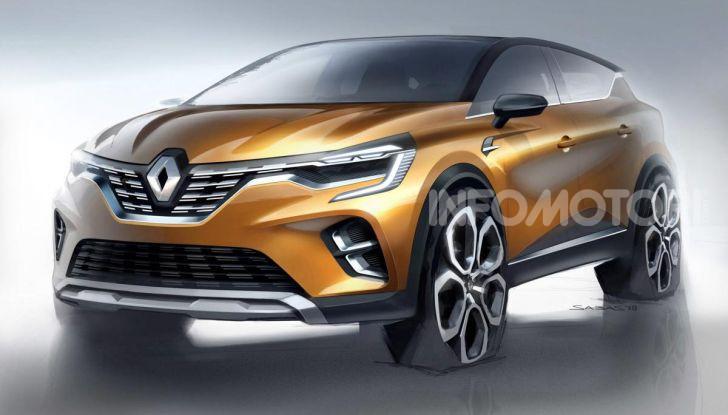 Nuova Renault Captur 2019: SUV d'alto design con variante Plug-In Hybrid - Foto 36 di 47
